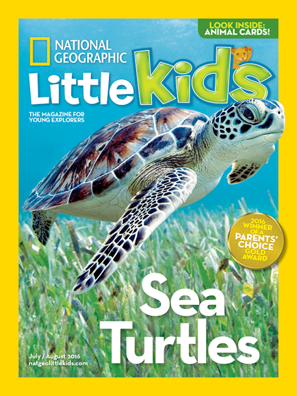 National Geographic Little Kids Cover - 7/1/2016