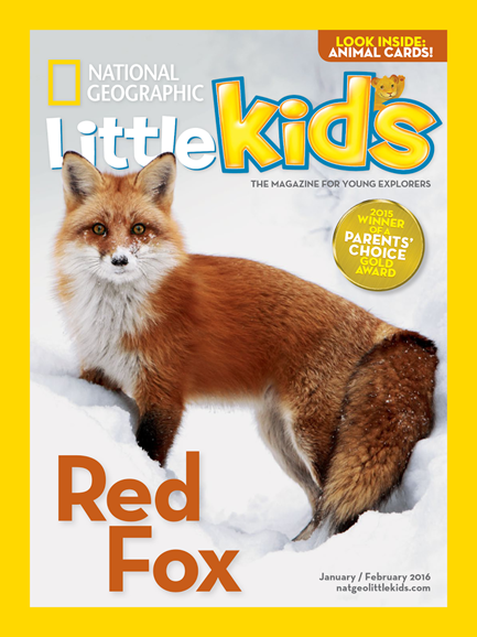 National Geographic Little Kids Cover - 1/1/2016