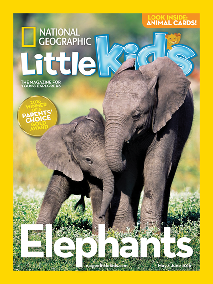 National Geographic Little Kids Cover - 5/1/2016