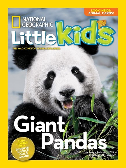 National Geographic Little Kids Cover - 1/1/2015