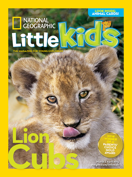 National Geographic Little Kids Cover - 3/1/2015