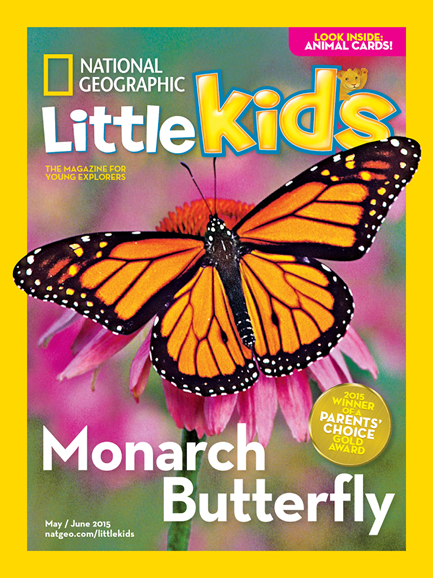 National Geographic Little Kids Cover - 5/1/2015