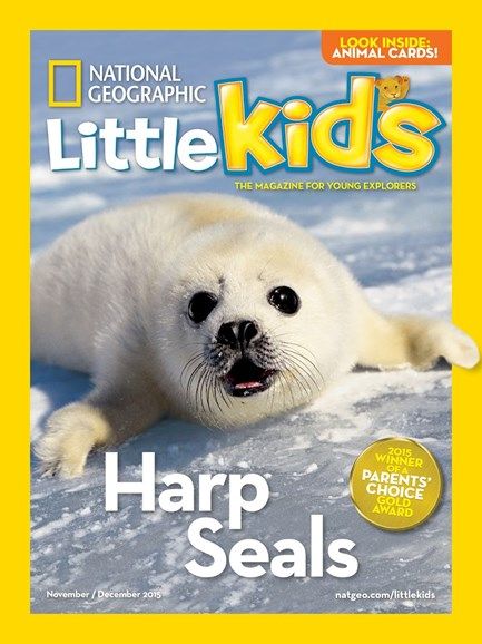 National Geographic Little Kids Cover - 11/1/2015