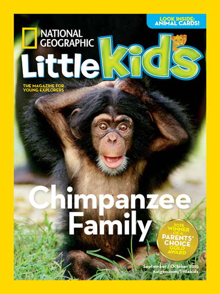 National Geographic Little Kids Cover - 9/1/2015