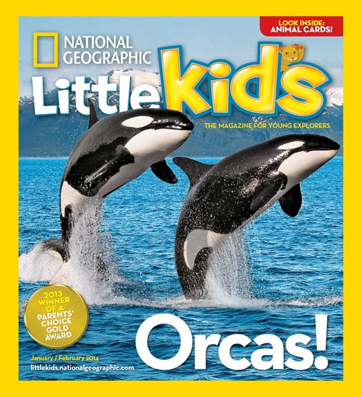 National Geographic Little Kids Cover - 1/1/2014