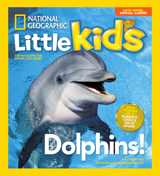 National Geographic Little Kids Cover - 7/1/2014
