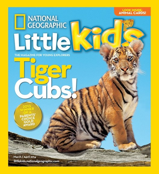 National Geographic Little Kids Cover - 3/1/2014