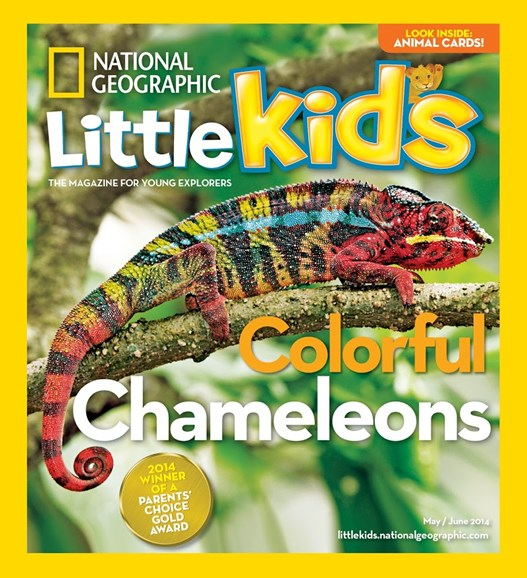 National Geographic Little Kids Cover - 5/1/2014