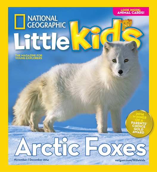 National Geographic Little Kids Cover - 11/1/2014