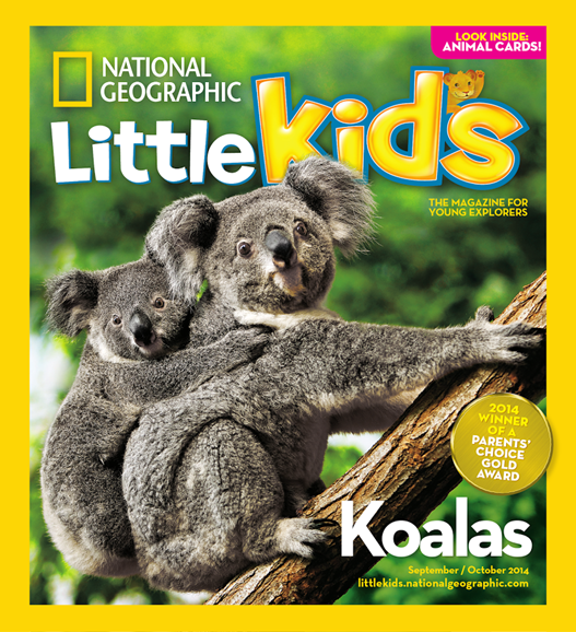 National Geographic Little Kids Cover - 9/1/2014