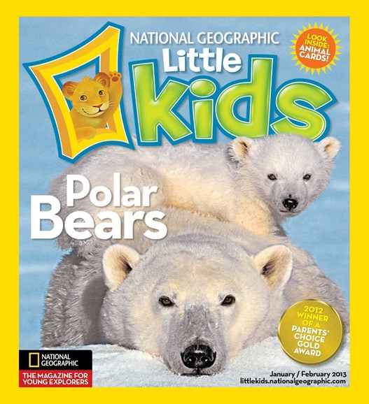 National Geographic Little Kids Cover - 1/1/2013