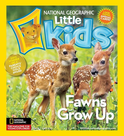 National Geographic Little Kids Cover - 3/1/2013