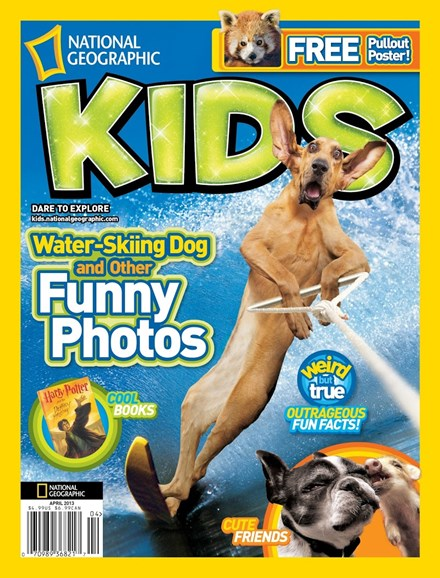 National Geographic Kids Cover - 4/1/2013