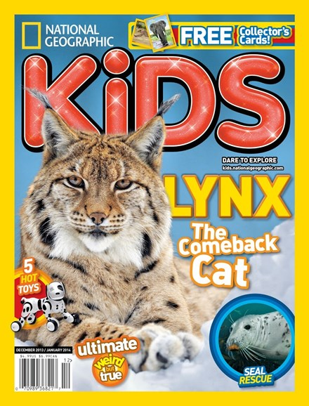 National Geographic Kids Cover - 12/1/2013