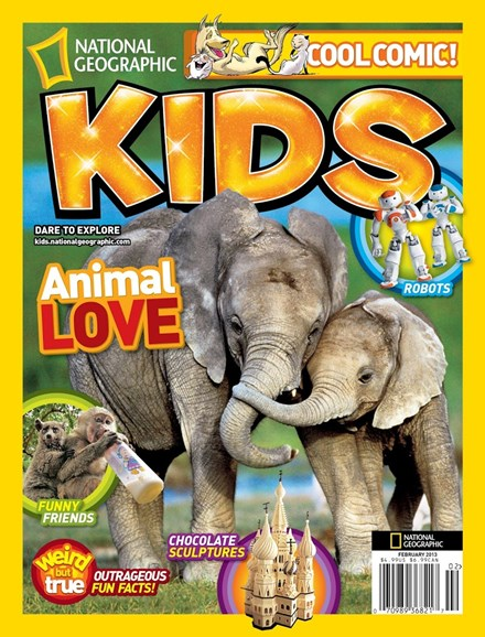 National Geographic Kids Cover - 2/1/2013