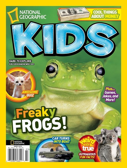 National Geographic Kids Cover - 3/1/2013