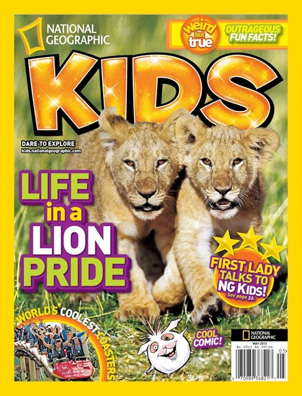 National Geographic Kids Cover - 5/1/2013