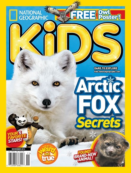 National Geographic Kids Cover - 11/1/2013