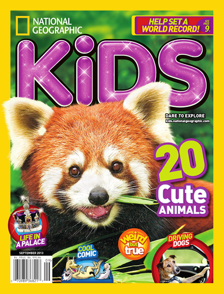 National Geographic Kids Cover - 9/1/2013