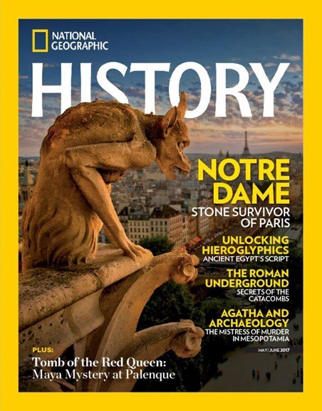 National Geographic History Cover - 5/1/2017