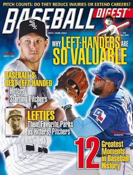 Baseball Digest Cover - 5/1/2014
