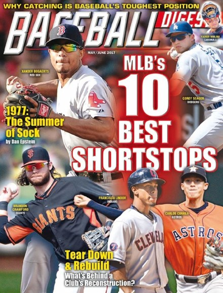 Baseball Digest Cover - 5/1/2017