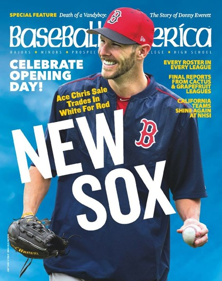 Baseball America Cover - 4/21/2017