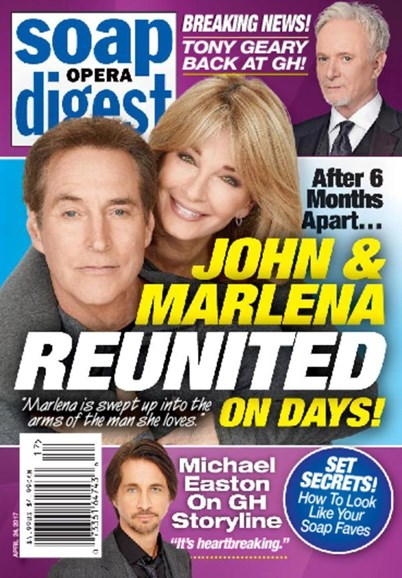 Soap Opera Digest Cover - 4/24/2017