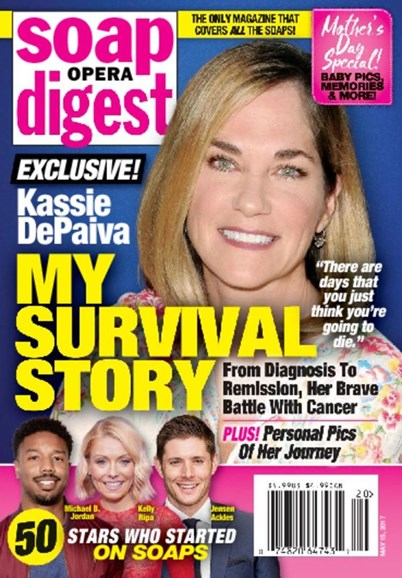 Soap Opera Digest Cover - 5/15/2017