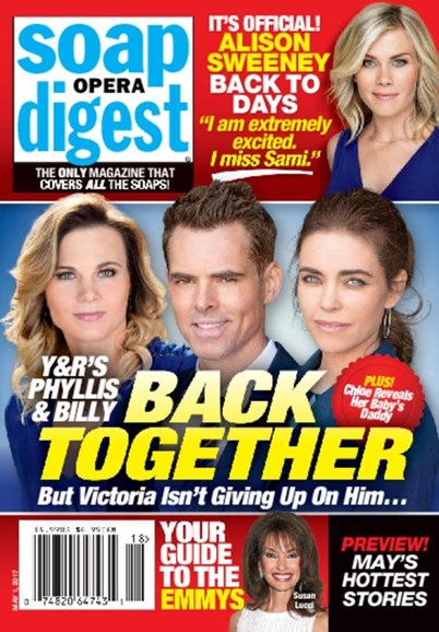 Soap Opera Digest Cover - 5/1/2017