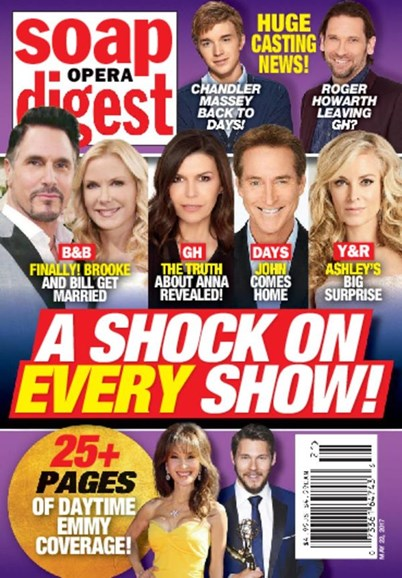 Soap Opera Digest Cover - 5/22/2017
