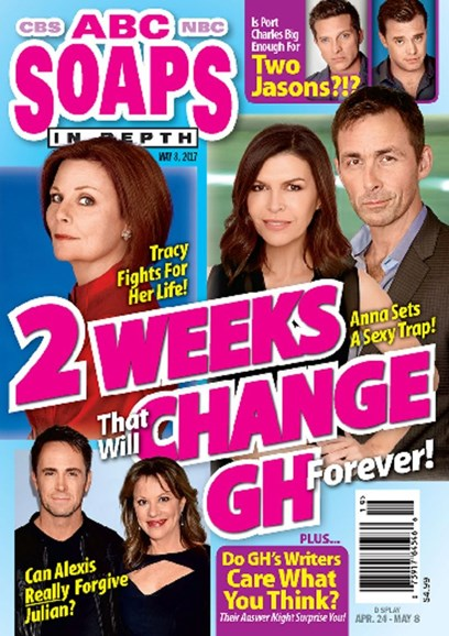 ABC Soaps In Depth Cover - 5/8/2017