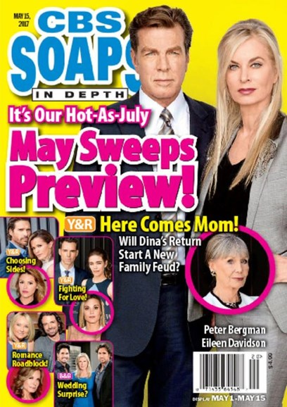 CBS Soaps In Depth Cover - 5/15/2017