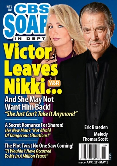 CBS Soaps In Depth Cover - 5/1/2017