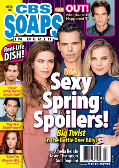CBS Soaps In Depth Cover - 5/29/2017