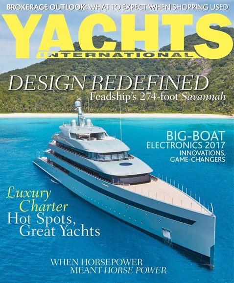 Yachts International Cover - 3/1/2017