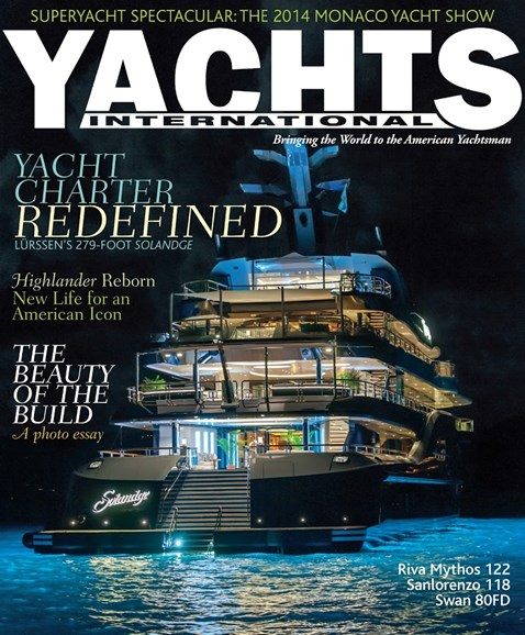 Yachts International Cover - 9/1/2014