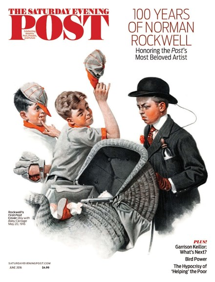 The Saturday Evening Post Cover - 5/1/2016