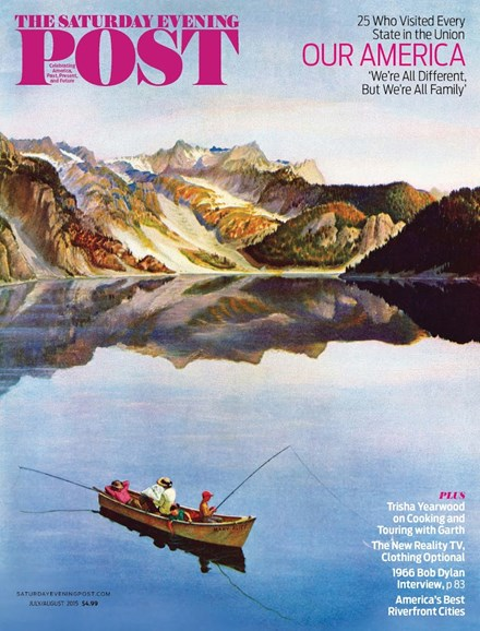 The Saturday Evening Post Cover - 7/1/2015