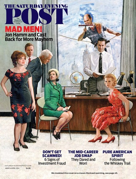 The Saturday Evening Post Cover - 3/1/2014