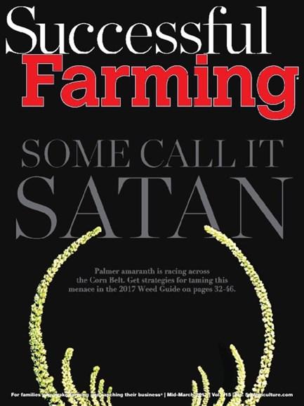 Successful Farming Cover - 3/15/2017