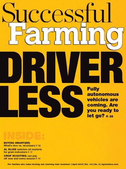 Successful Farming Cover - 4/1/2016