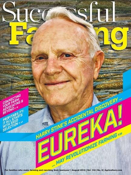 Successful Farming Cover - 8/1/2016