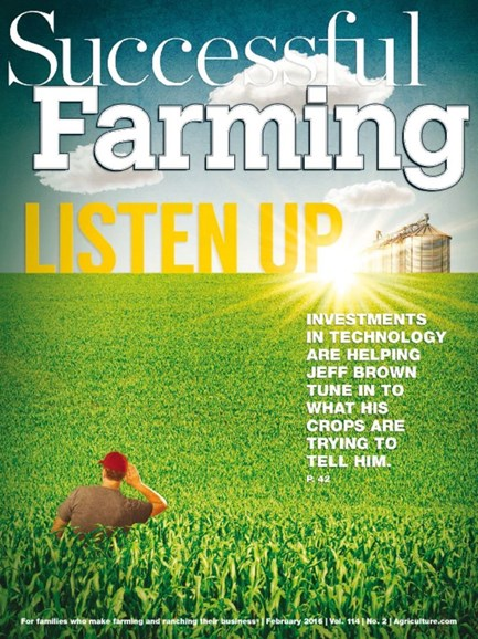 Successful Farming Cover - 2/1/2016