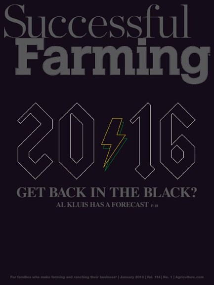 Successful Farming Cover - 1/1/2016