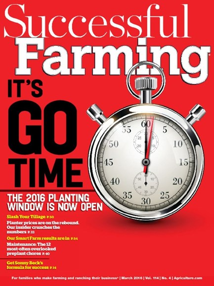 Successful Farming Cover - 3/1/2016
