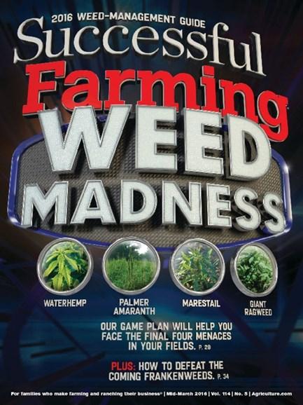 Successful Farming Cover - 3/15/2016