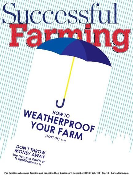 Successful Farming Cover - 11/1/2016
