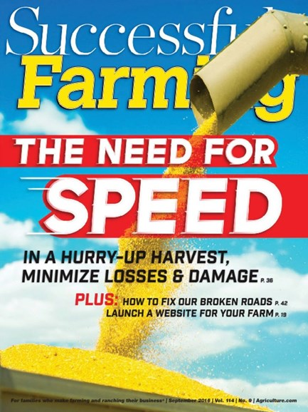 Successful Farming Cover - 9/1/2016