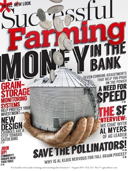 Successful Farming Cover - 8/1/2013